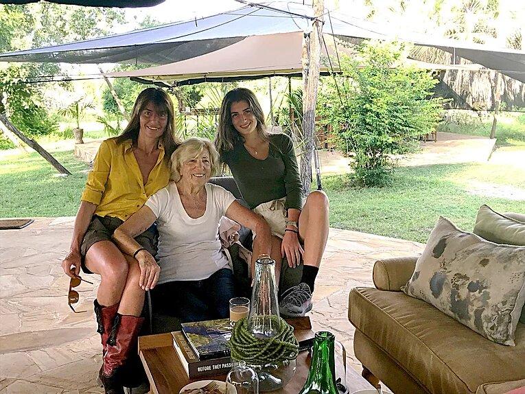 3 drôles de dames chez les Big Five